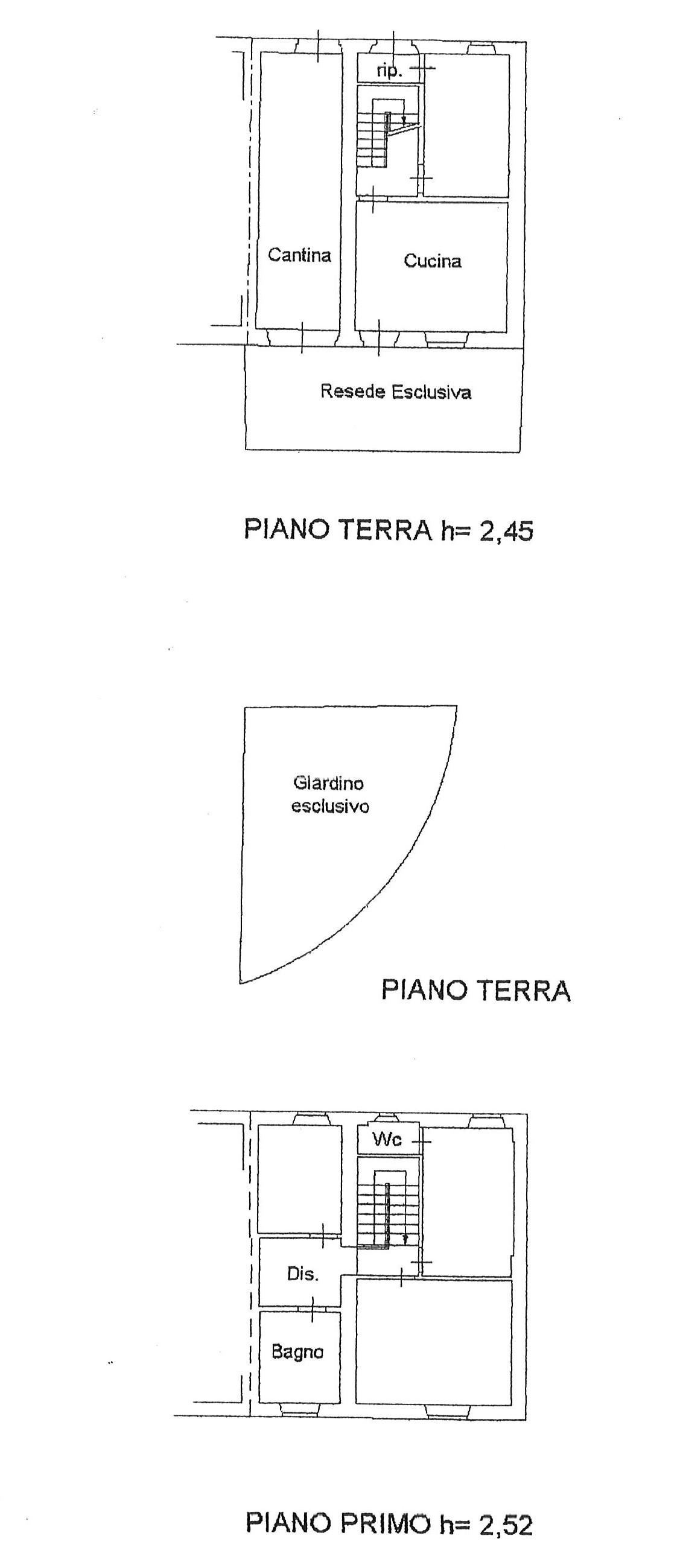 Planimetria 1/1 per rif. trf tor 120