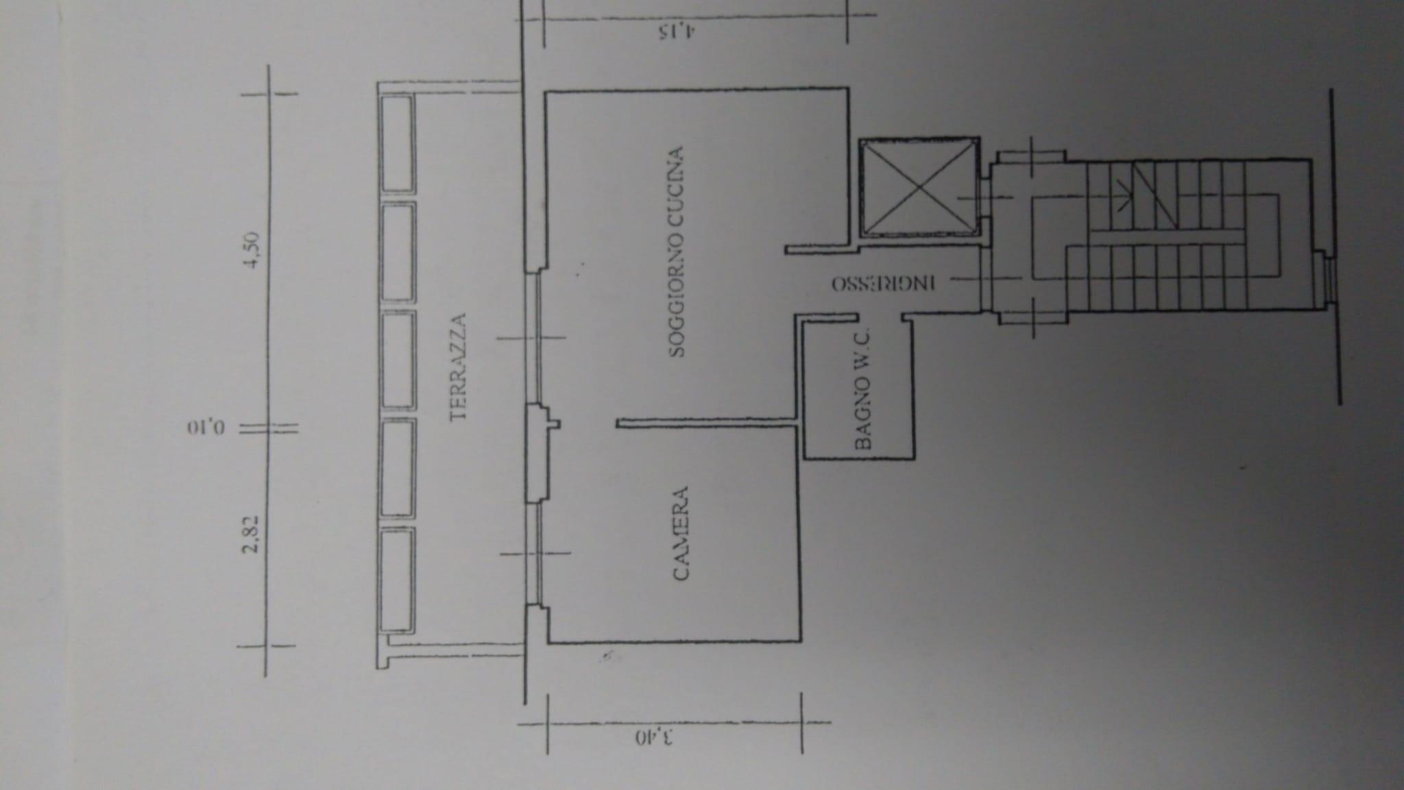 Planimetria 1/1 per rif. ap montec 70