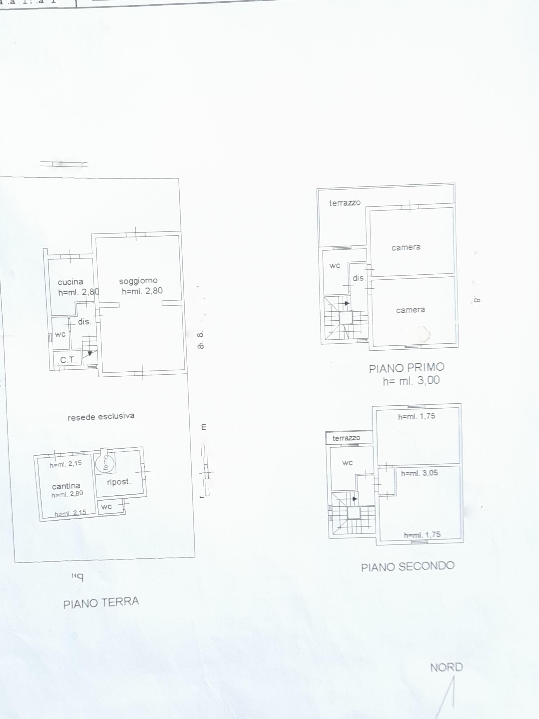 Planimetria 1/1 per rif. trf orent 195
