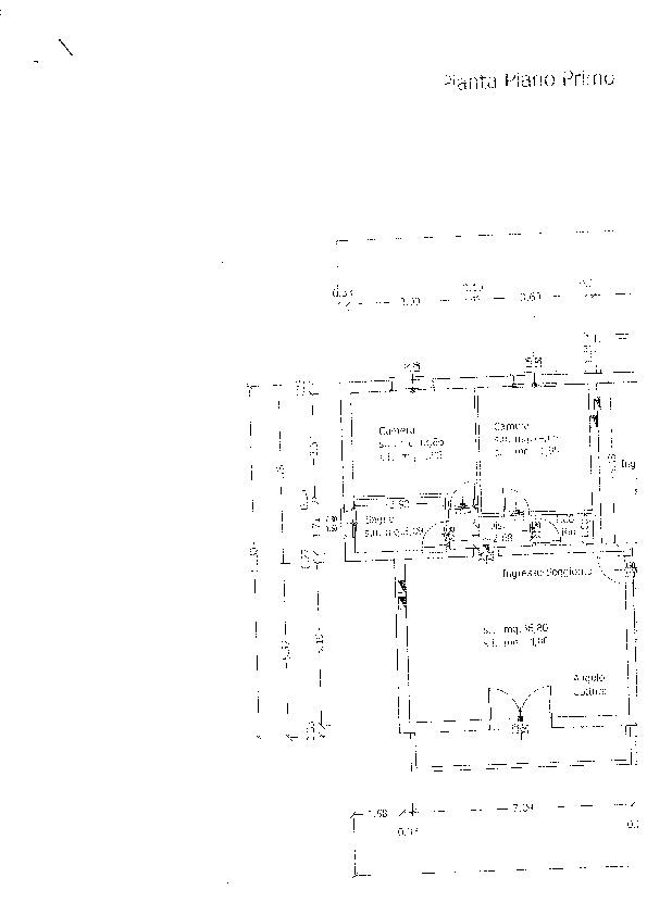Planimetria 1/1 per rif. ap capa 135