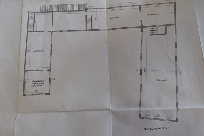 Planimetria 3/8 per rif. T02