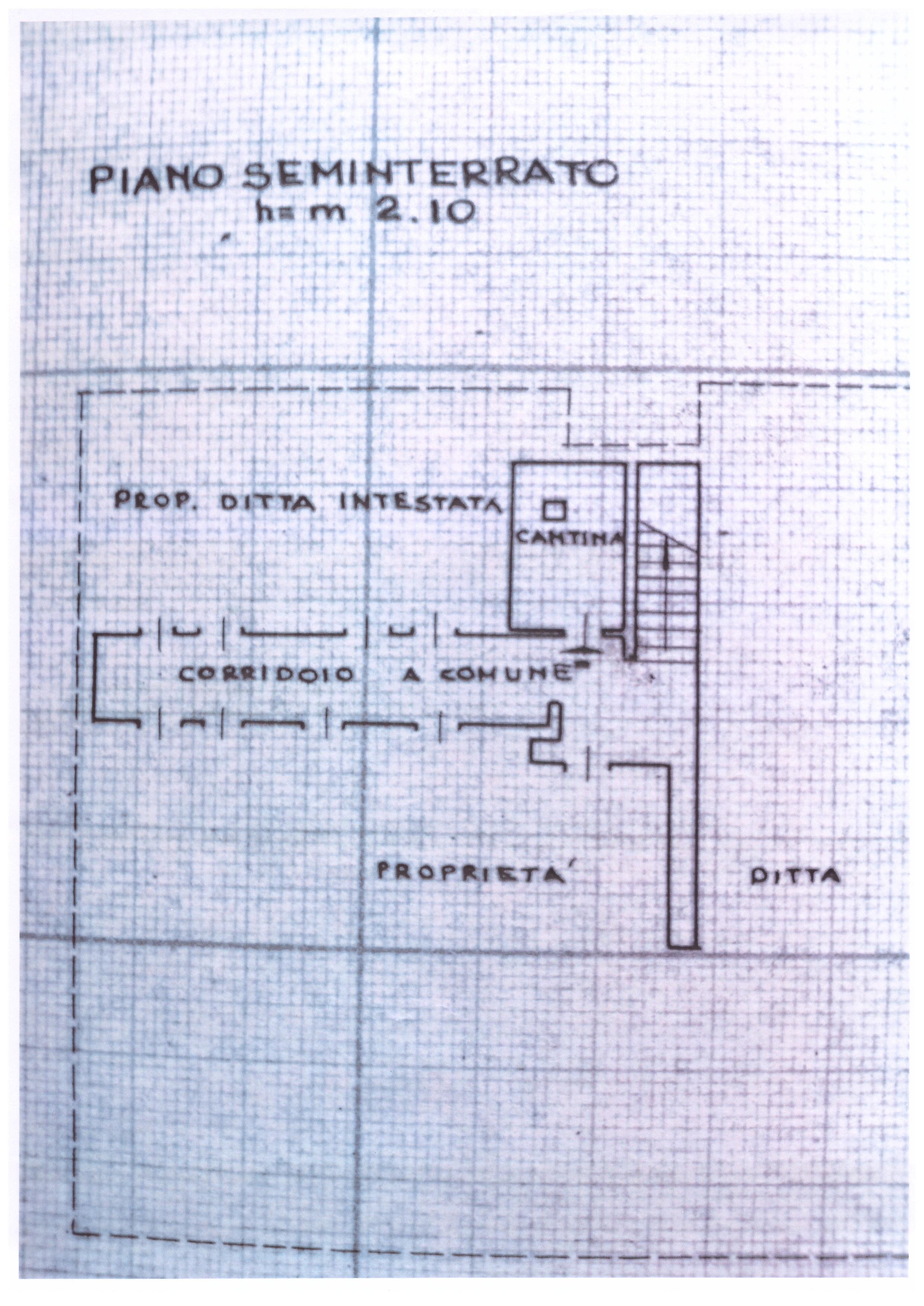 Planimetria 2/3 per rif. PIOPPINI