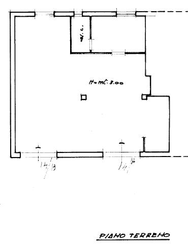 Planimetria 1/1 per rif. fondo € 200.000