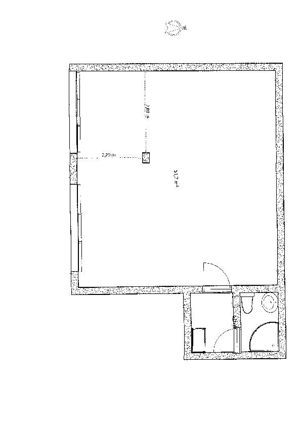 Planimetria 1/1 per rif. ufficio