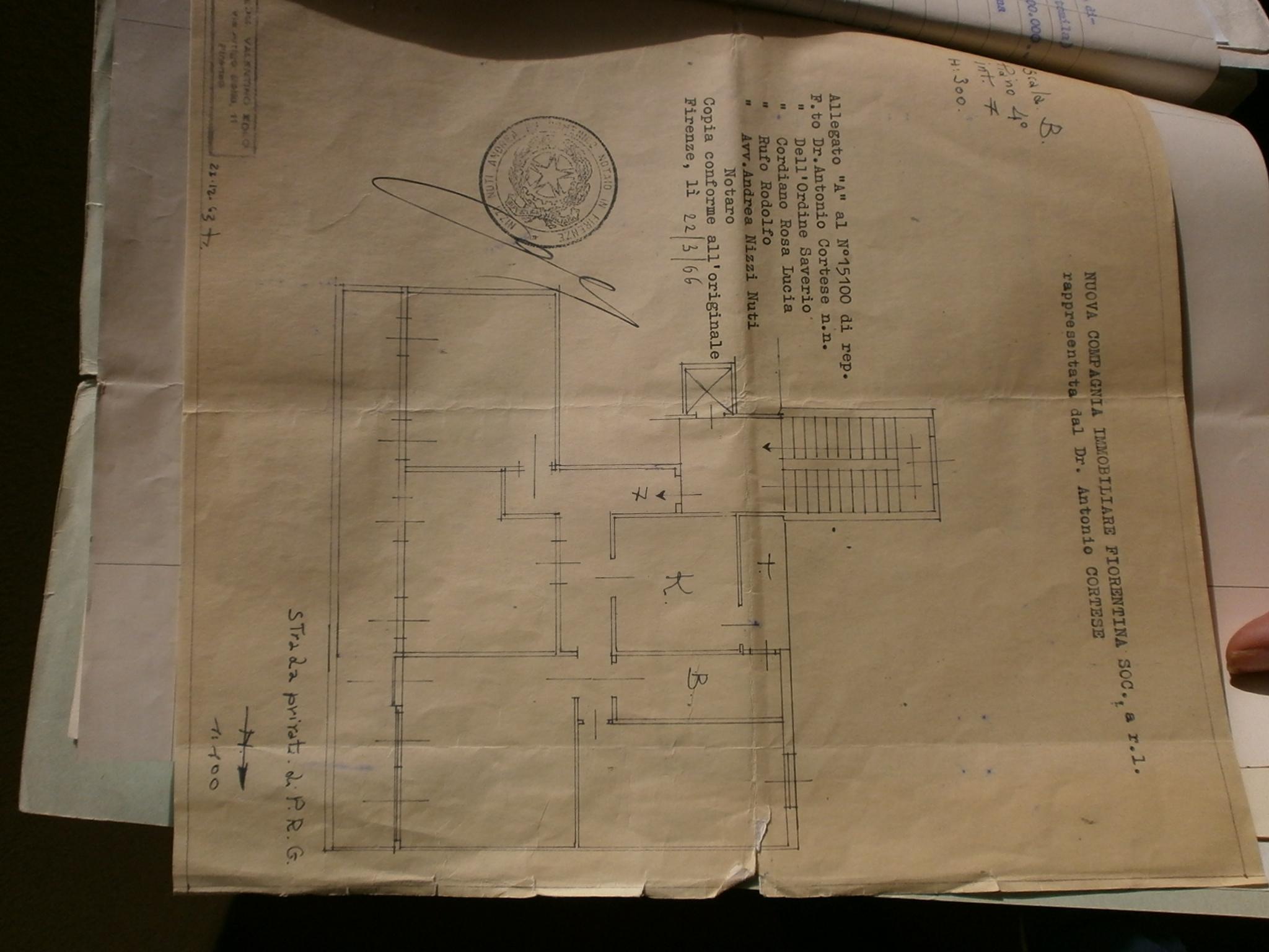 Planimetria 1/1 per rif. ISOLOTTO 5
