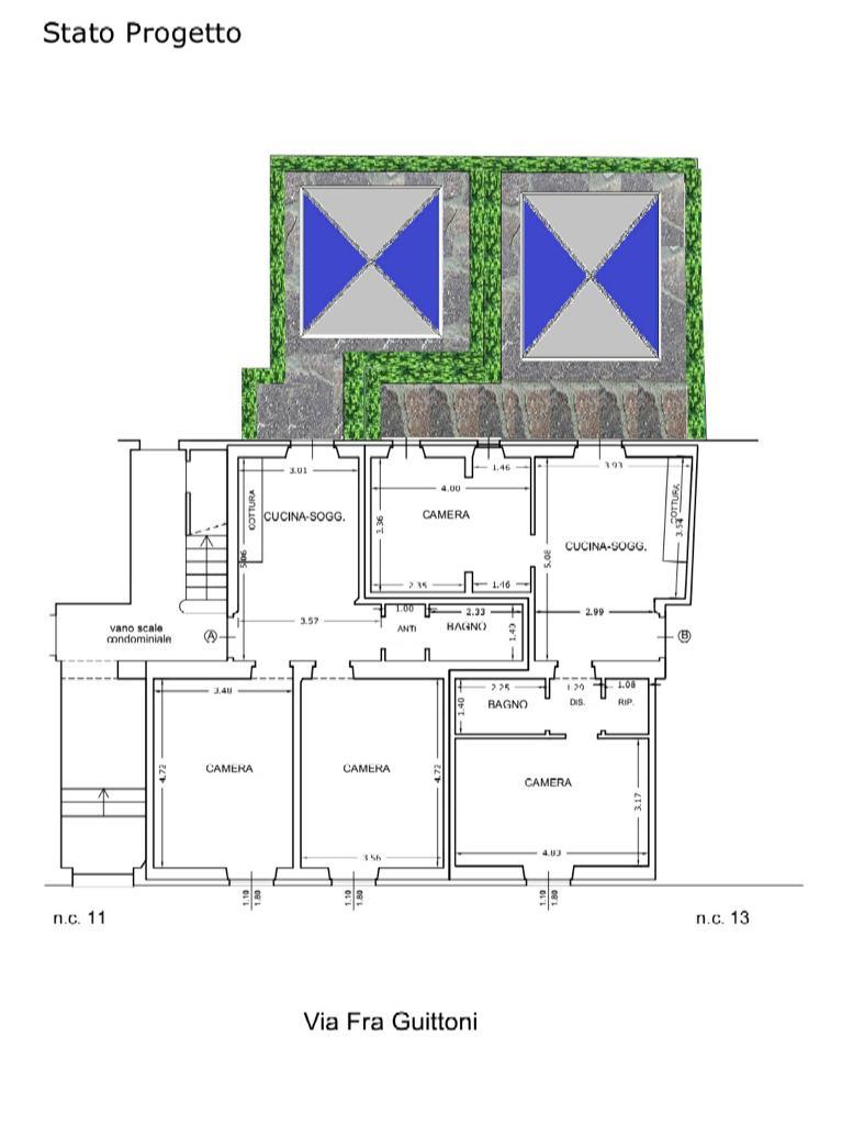 Planimetria 1/1 per rif. CIO BOCCACCIO 270000