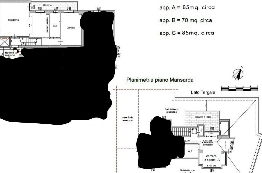 Planimetria 1/1 per rif. CIO RIGHI A 445000