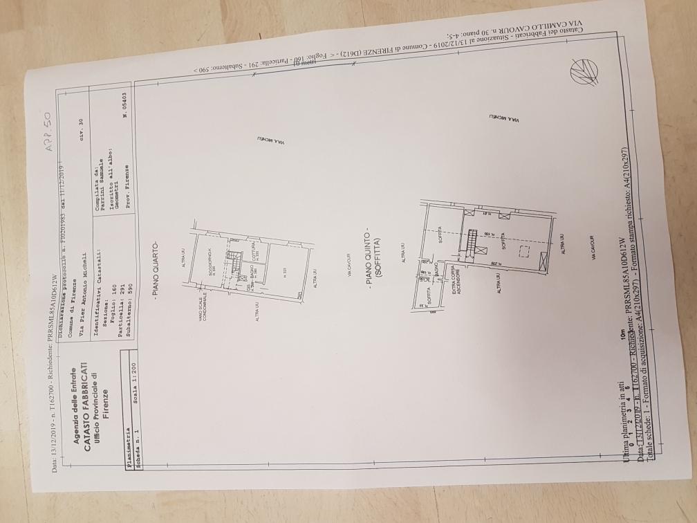 Planimetria 1/1 per rif. CAVOUR48   480000