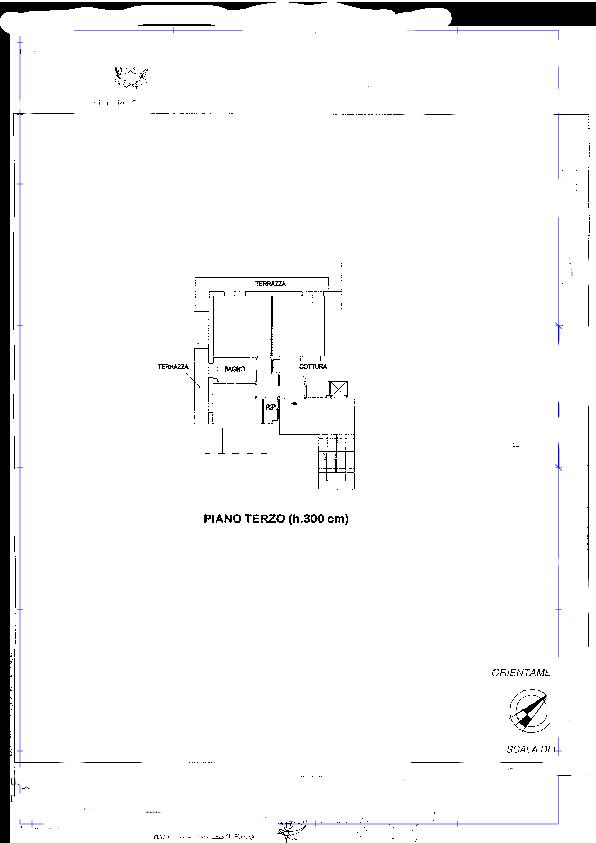 Planimetria 1/1 per rif. PIENZA 1
