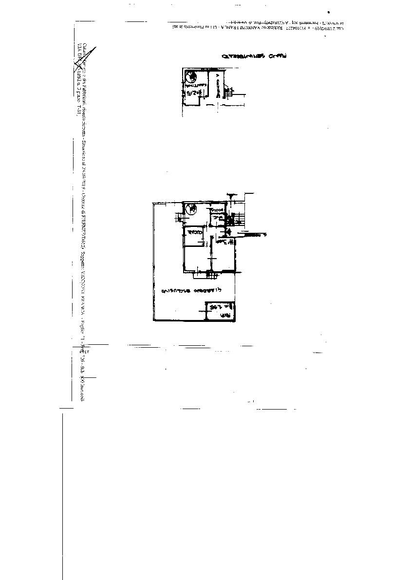 Planimetria 1/1 per rif. ISOLOTTO VECCHIO T