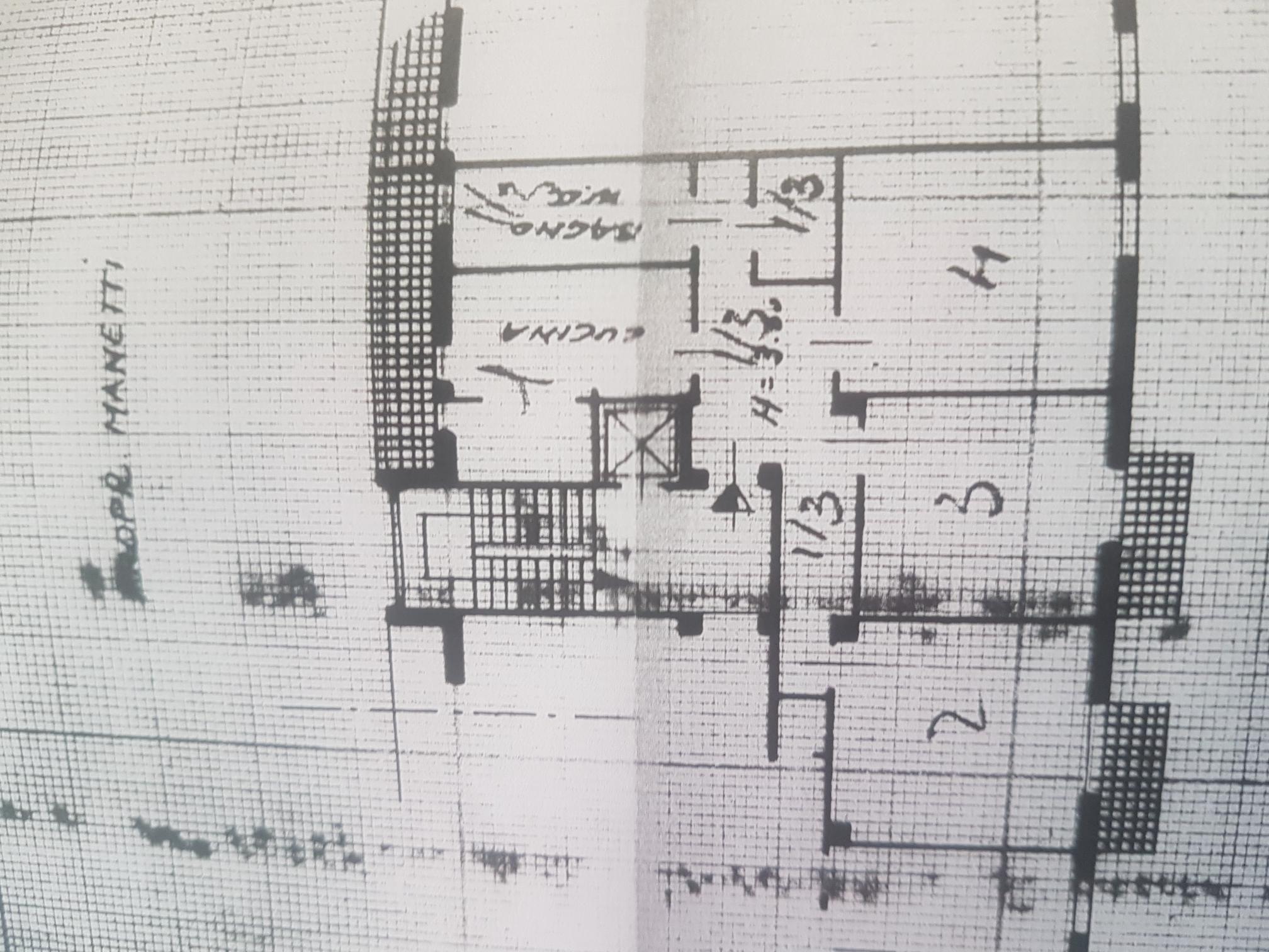 Planimetria 1/1 per rif. Cett.1