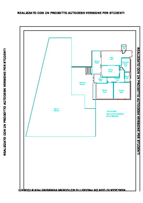 Planimetria 1/1 per rif. PONTE
