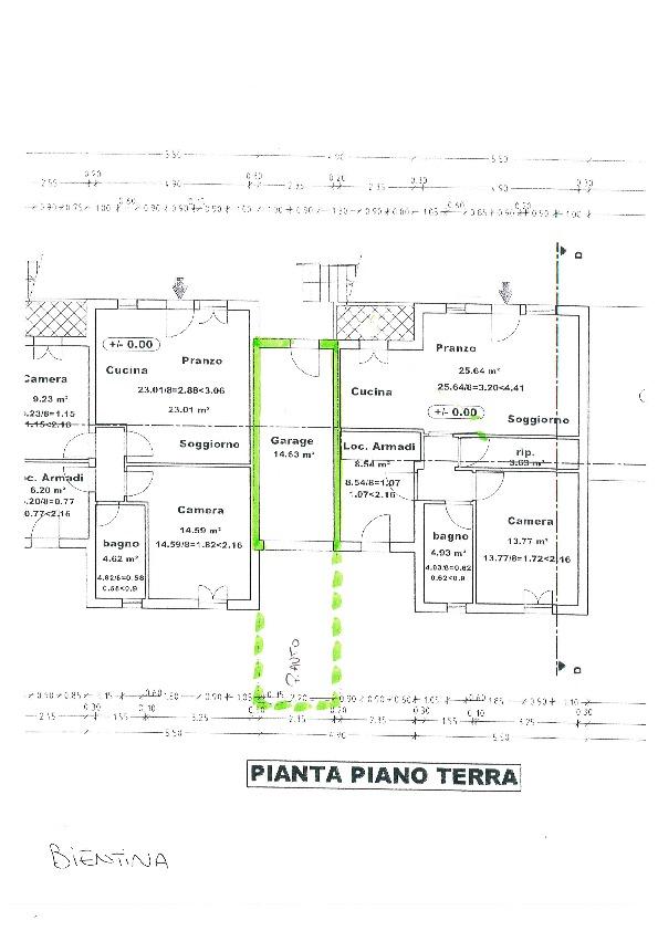 Planimetria 3/3 per rif. BC107