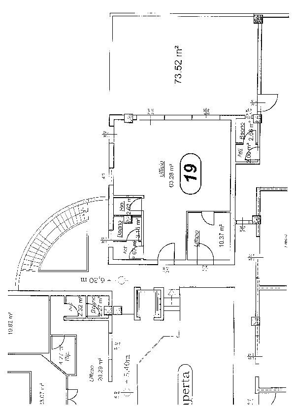 Planimetria 1/2 per rif. BC114