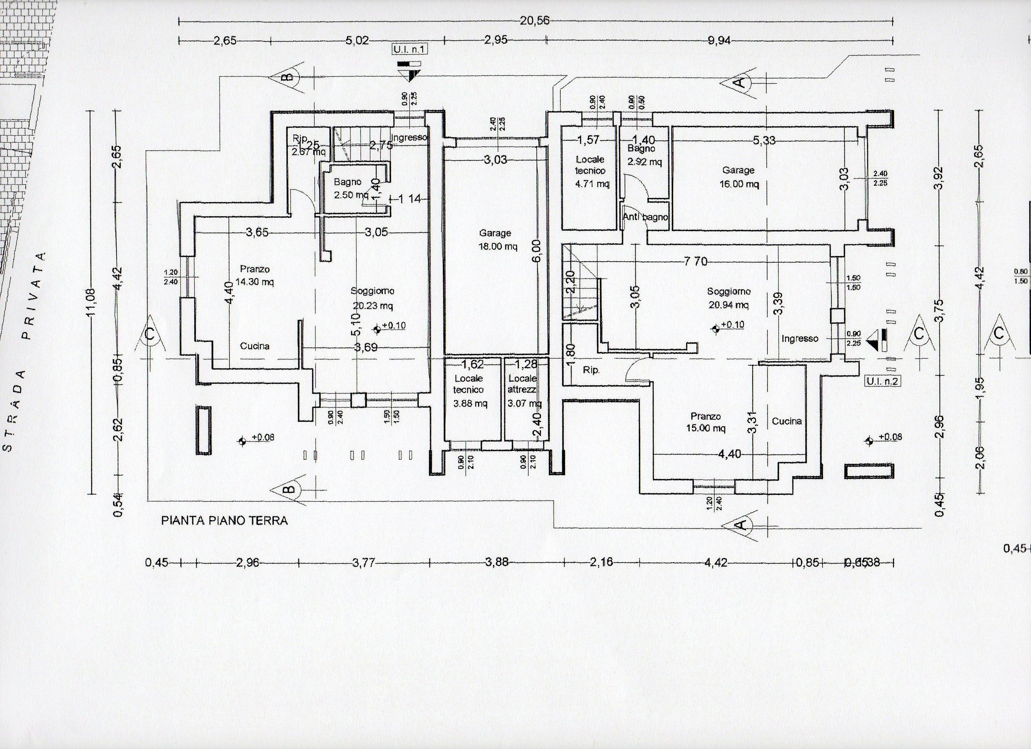 Planimetria 2/3 per rif. BC123