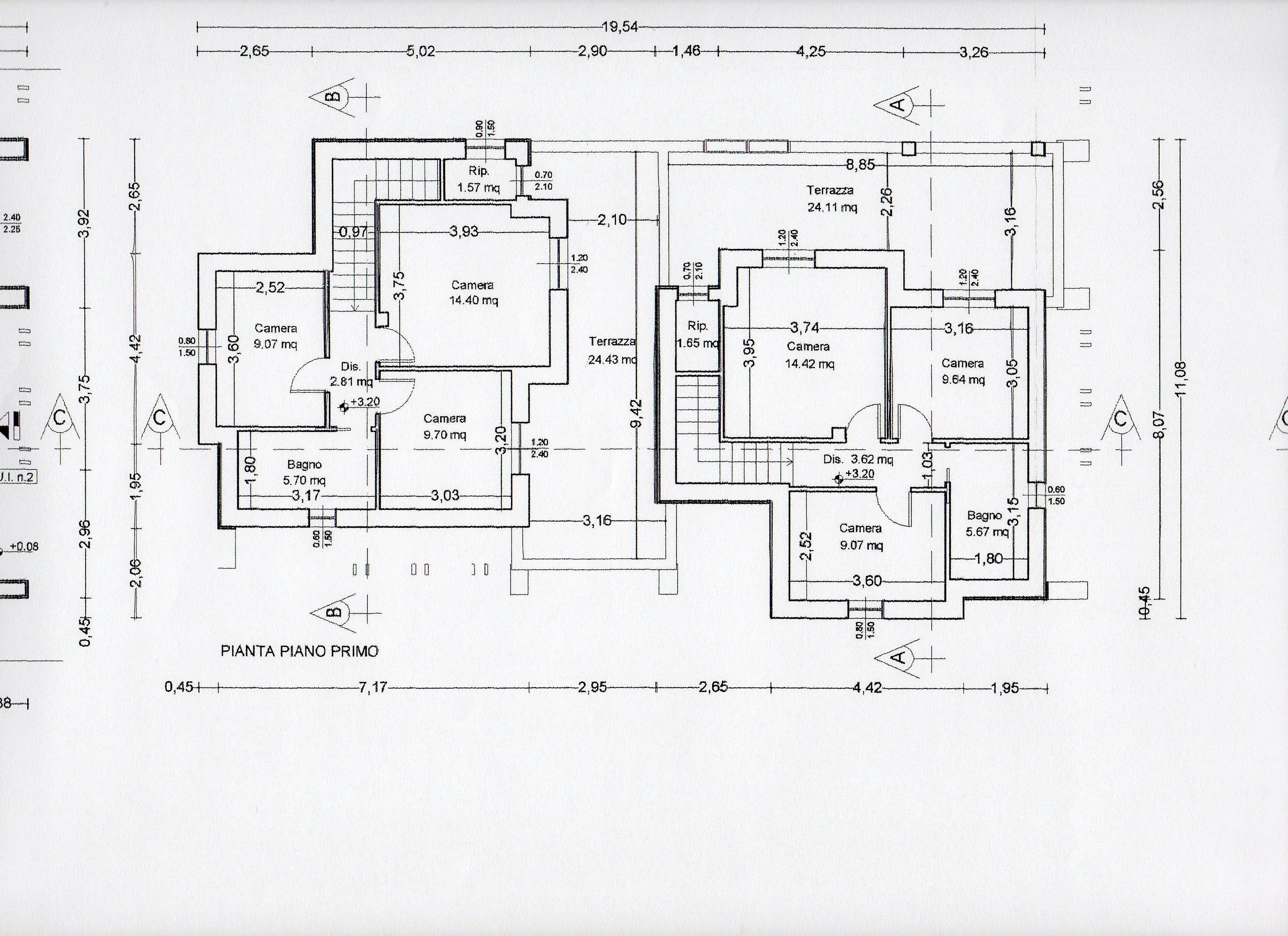 Planimetria 3/3 per rif. BC123