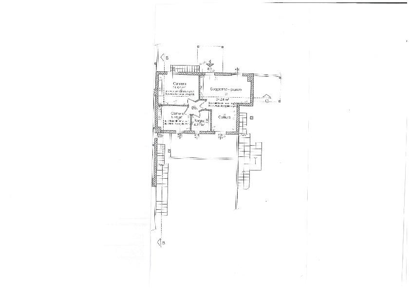 Planimetria 1/1 per rif. BC167