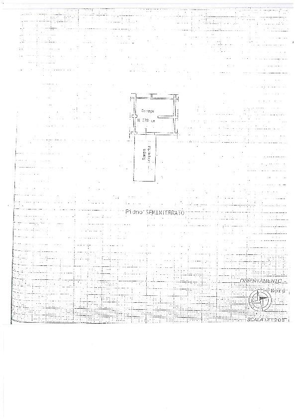 Planimetria 2/2 per rif. BC146