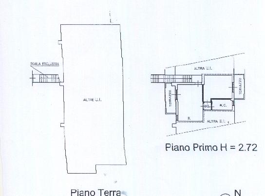 Planimetria 1/2 per rif. BC148