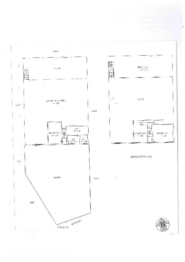 Planimetria 1/1 per rif. BC155