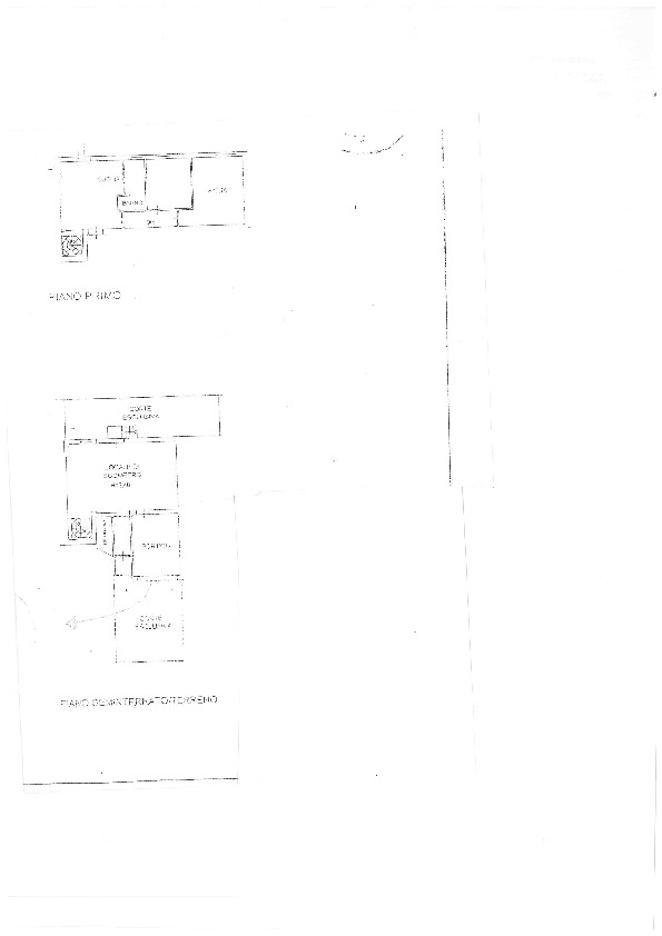 Planimetria 1/1 per rif. BC158