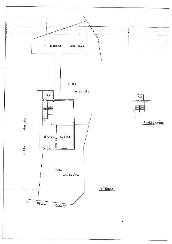 Planimetria 1/1 per rif. BC164