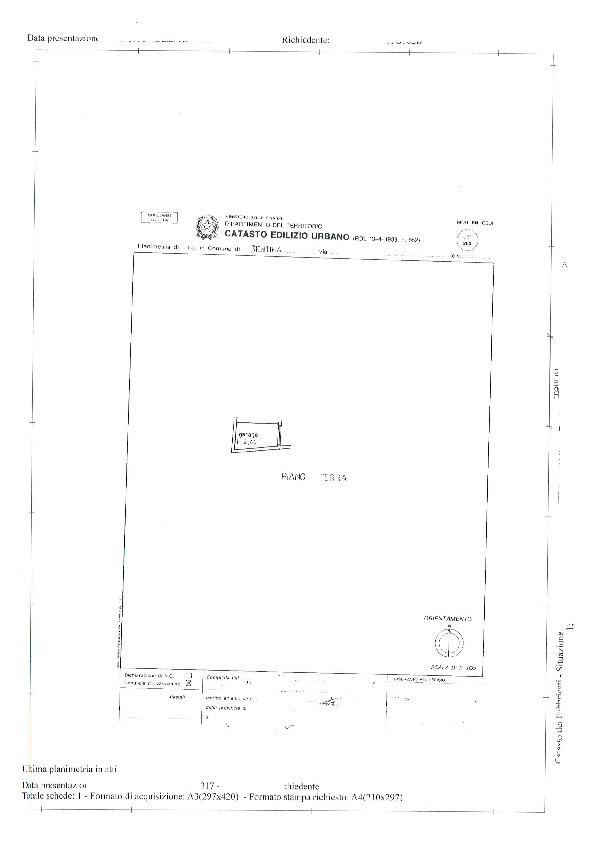 Planimetria 3/3 per rif. BC177