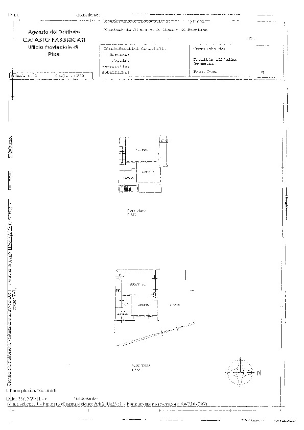 Planimetria 1/1 per rif. BC229