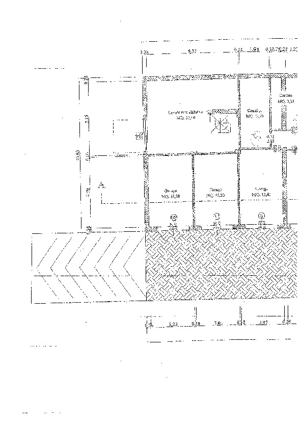 Planimetria 1/3 per rif. BC230