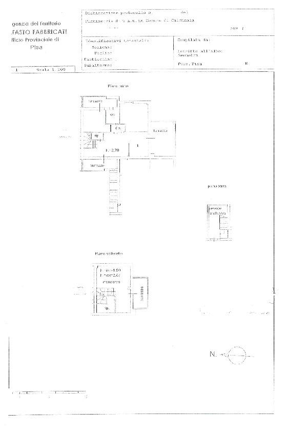 Planimetria 1/1 per rif. BC236