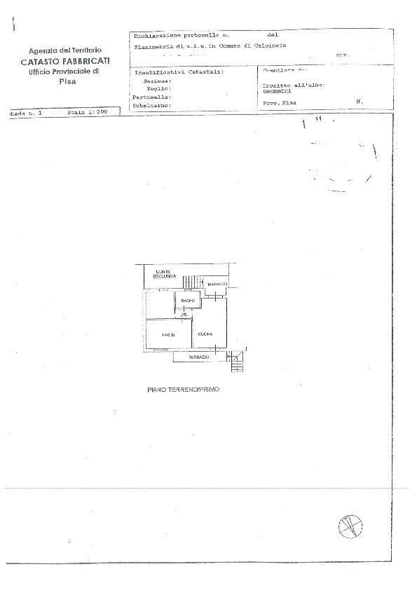 Planimetria 2/2 per rif. BC245