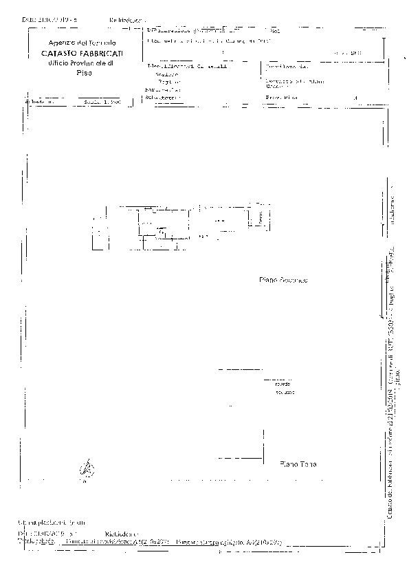 Planimetria 1/1 per rif. BC250