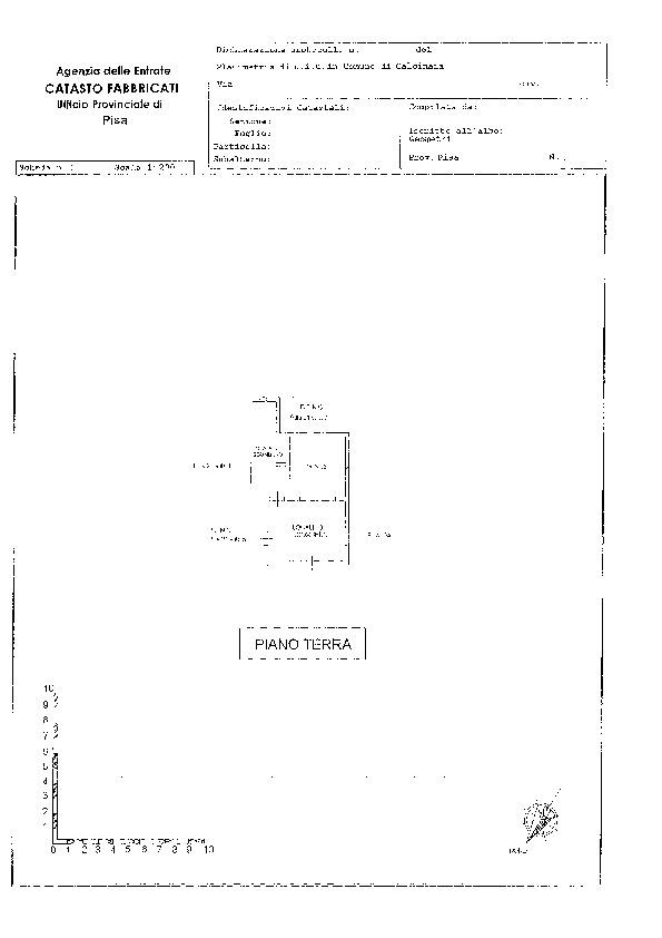 Planimetria 2/2 per rif. 2006
