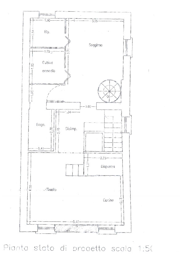 Planimetria 1/2 per rif. BC2015