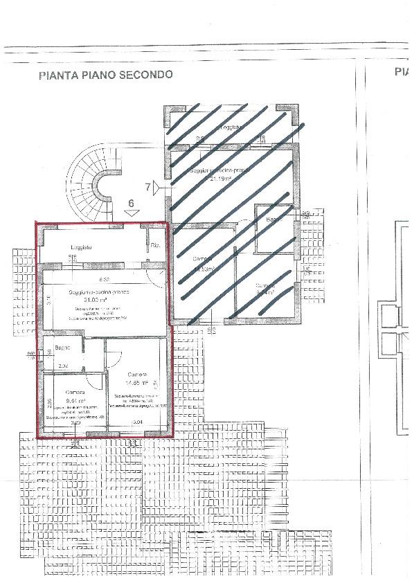 Planimetria 1/2 per rif. BC2023