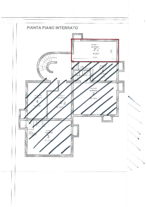 Planimetria 2/2 per rif. BC2023