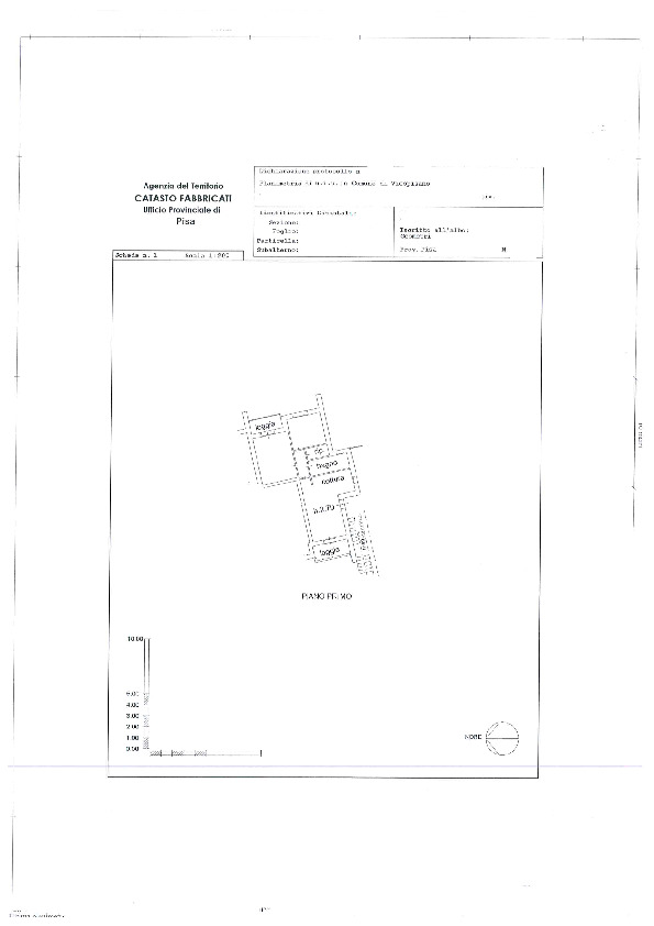 Planimetria 1/1 per rif. BC2034