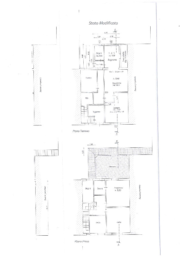 Planimetria 1/1 per rif. BC2036