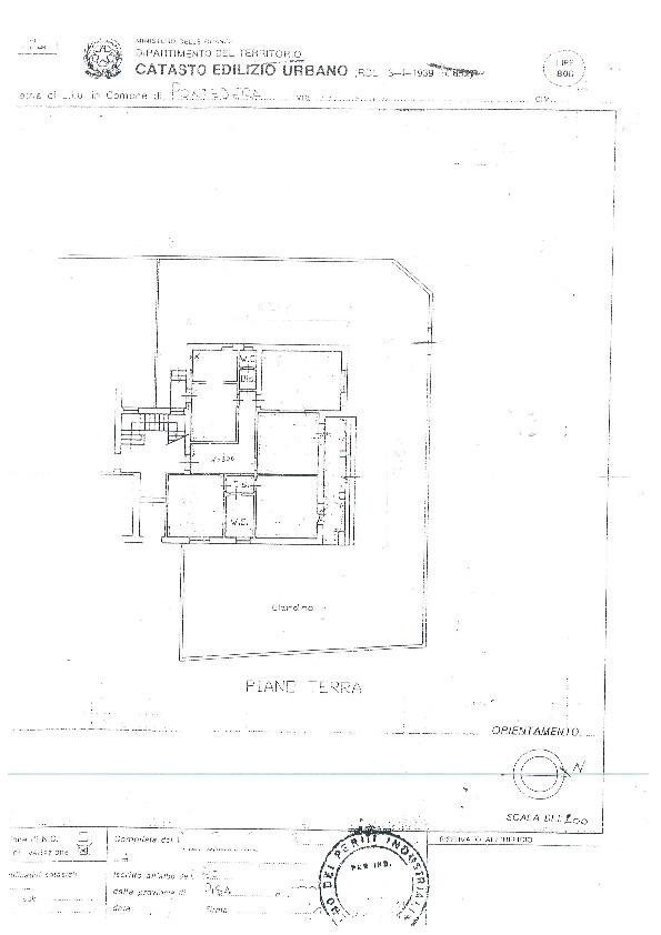 Planimetria 1/1 per rif. BC2037
