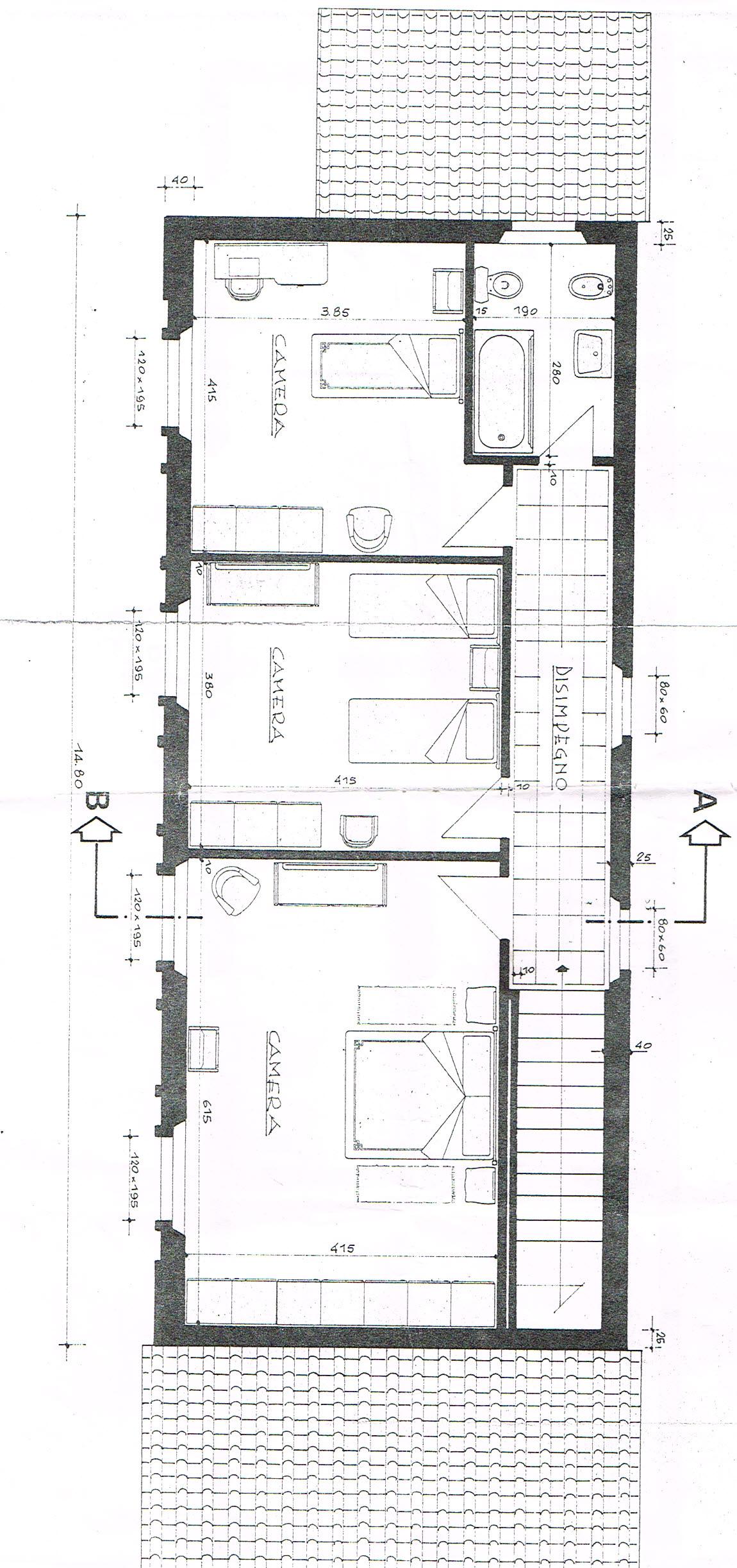 Planimetria 2/2 per rif. 2229
