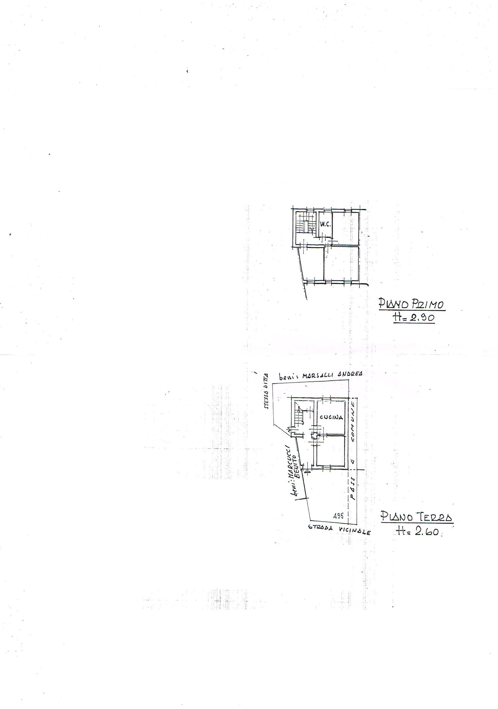Planimetria 1/1 per rif. 2608