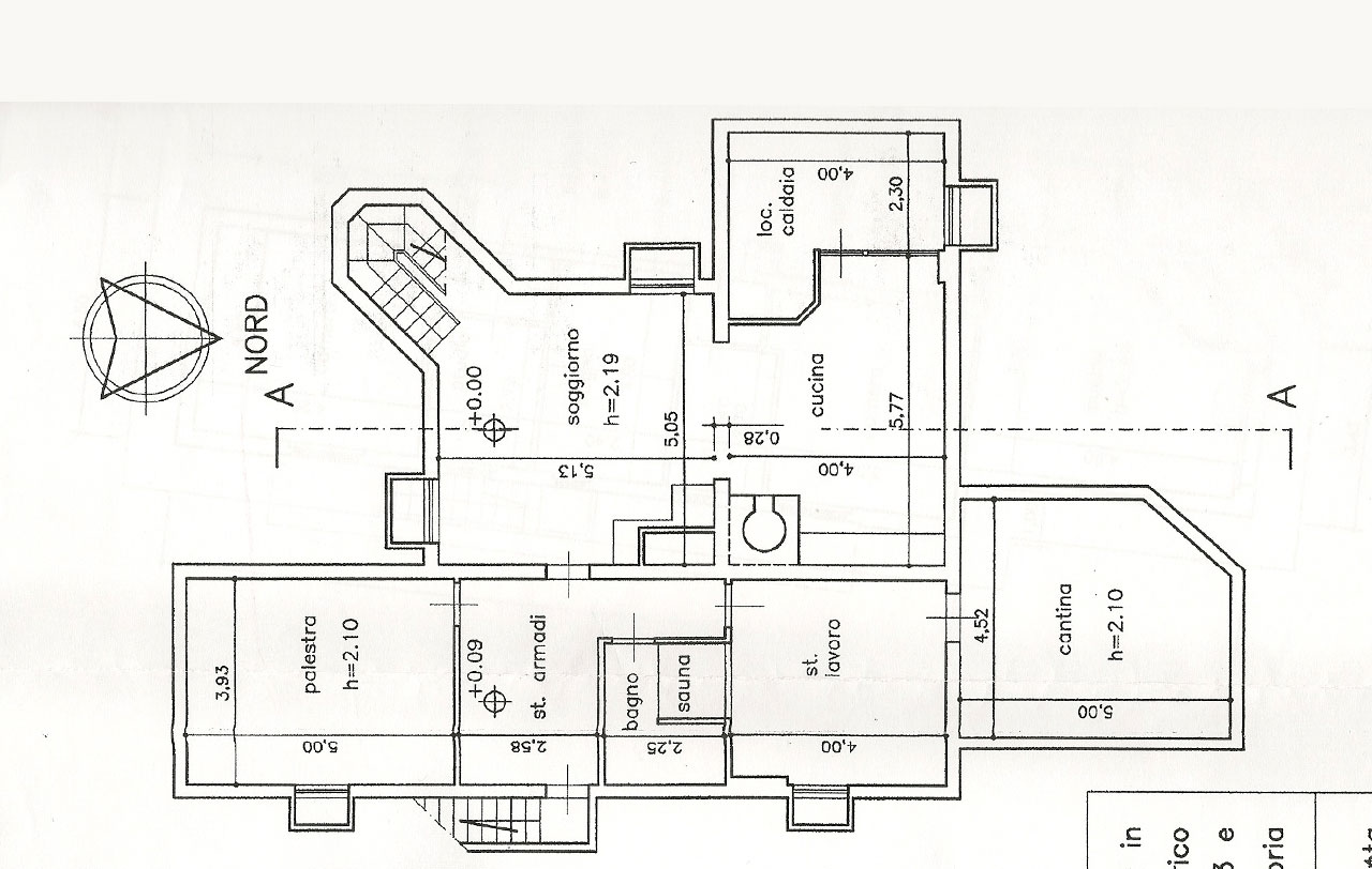 Planimetria 3/3 per rif. 2493