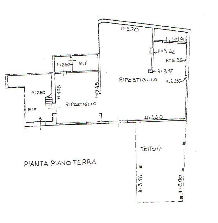 Planimetria 4/5 per rif. 2446