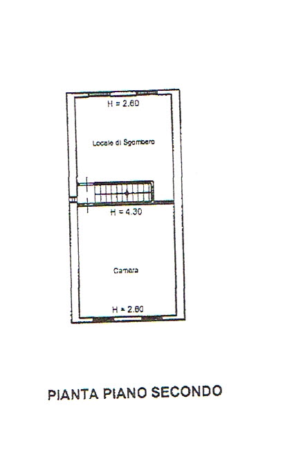 Planimetria 3/5 per rif. 2446