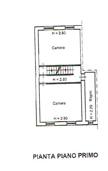 Planimetria 2/5 per rif. 2446