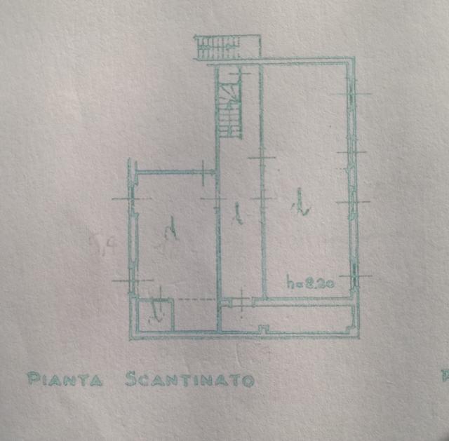 Planimetria 2/2 per rif. 2381