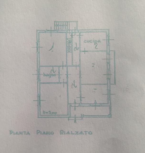 Planimetria 1/2 per rif. 2381