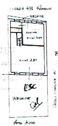Planimetria 1/3 per rif. 2549