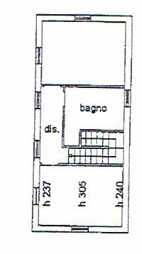 Planimetria 2/2 per rif. 2588