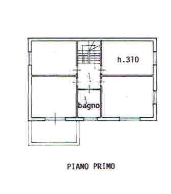 Planimetria 2/3 per rif. 2646